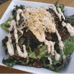 Crumble Salad with Falafel