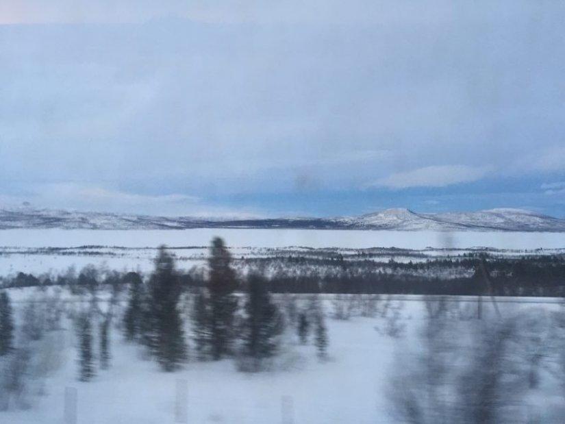train to Abisko