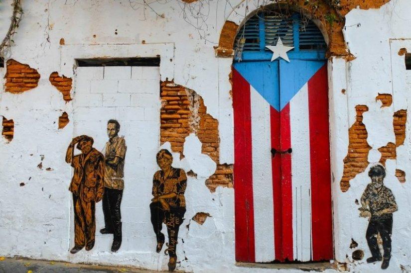 street art in Old San Juan
