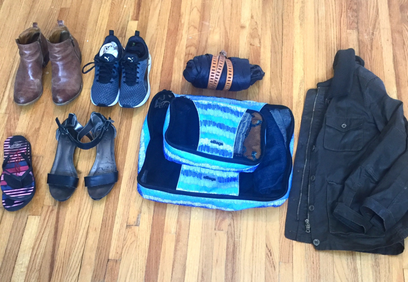 All I packed for 6 months in Europe - Find out how here!