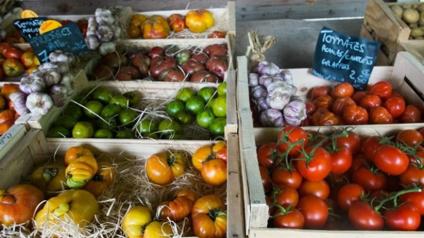 produce in Goult Provence