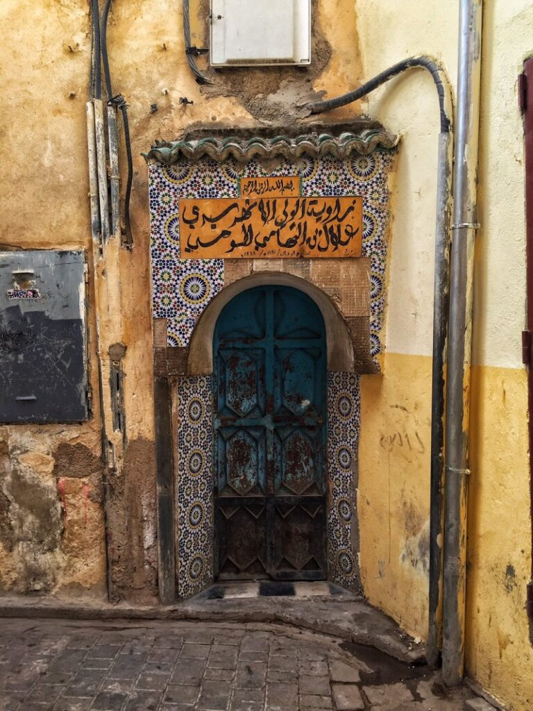 What at first seems extraordinary quickly turns into a blur in the medina
