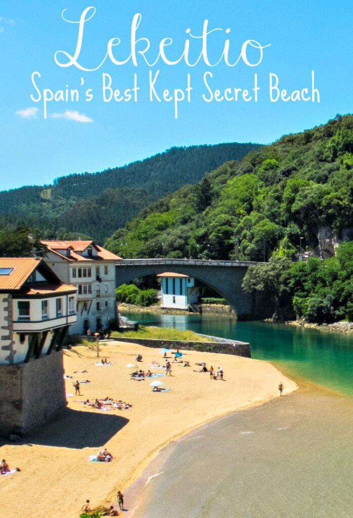 Lekeitio, in the Basque Country region of Spain, is one of the best beach towns in Spain. From its beautiful turquoise waters that seem straight out of the Caribbean, delicious fresh seafood, and unspoiled paradise vibes, it's a surprise that this little beauty is widely off the tourist trail.