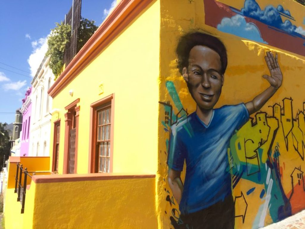 Street art in Cape Town, South Africa