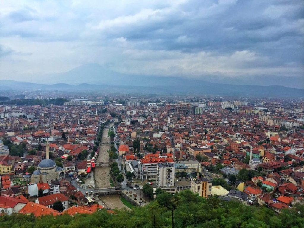 Prizren seemed like the perfect place... We got there hitchhiking in Albania