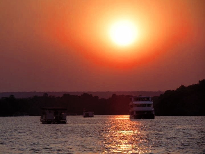 A sunset cruise is a must of the things to do in Livingstone Zambia