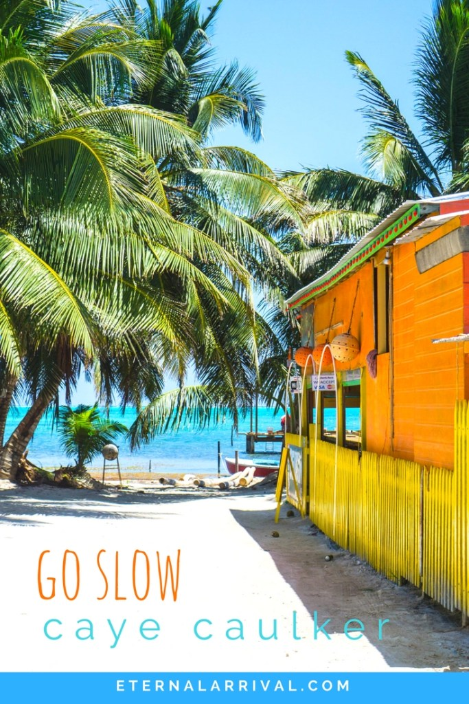 Travel beautiful Caye Caulker Belize and experience slow travel at its best! Go on a snorkeling adventure with sharks or just chill in inner tubes at the best beach bar on the island.