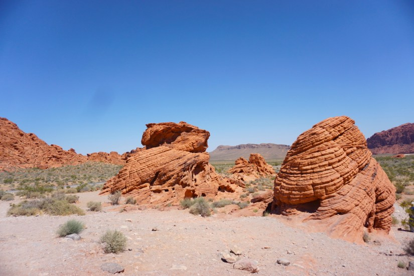 """The """"beehive"""" formations at Valley of Fire State Park"""