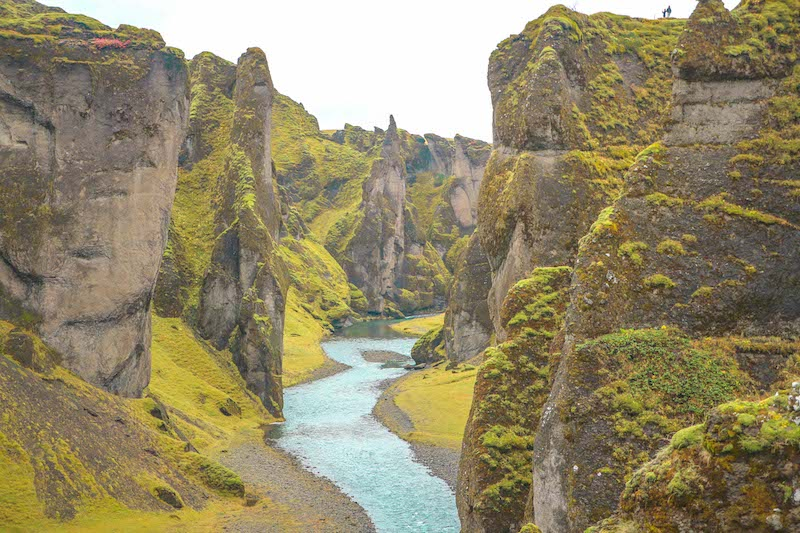 Canyon in Iceland - off the beaten path