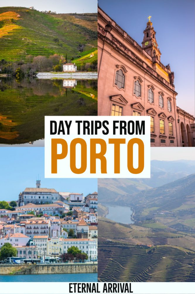 Are you going to visit Porto, Portugal's second largest city? While it's hard to run out of things to do in Porto, it also makes a great base for Portugal road trips! Here are some of the best places to visit in Portugal and Spain on day trips from Porto. These Porto day trips include the UNESCO-listed Douro Valley wine region, the pilgrimage site of Fatima, the university city of Coimbra, and so much more!