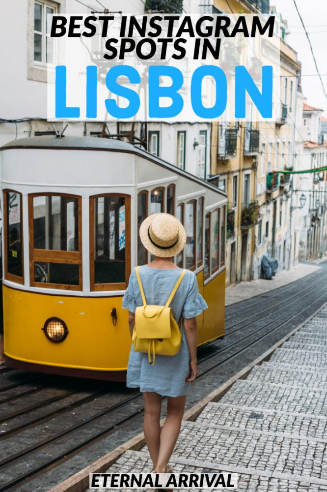 Want to find all the best Instagram spots in Lisbon, Portugal? Follow this guide to Lisbon photography locations! Besides must see Lisbon Instagram spots, it's also full of the best things to do in Lisbon, must-sees like the Pink Street, miradouros & colorful neighborhoods like Alfama and Chiado, as well as awesome architecture, Lisbon hidden gems, best spots to see Lisbon trams and elevators, the best views in Lisbon & more!