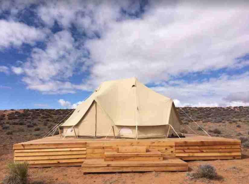 the bell tent suite