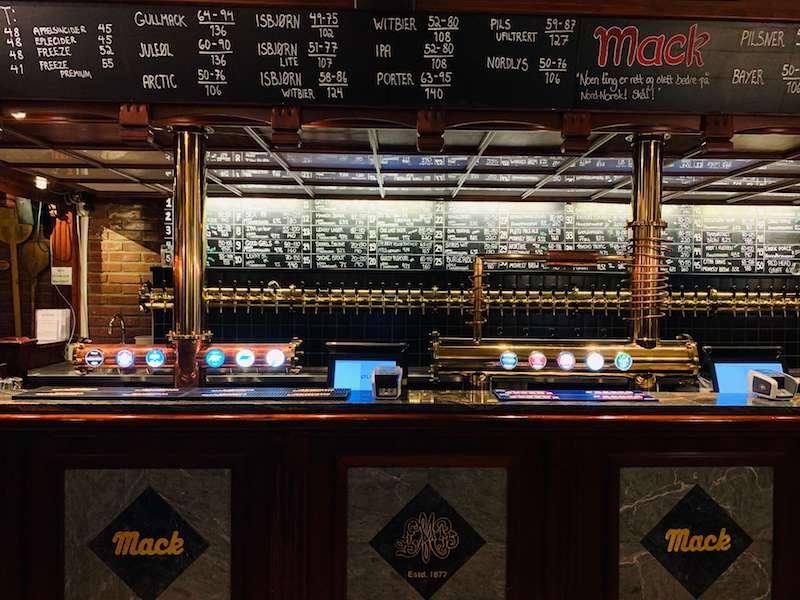 olhallen beer hall in tromso