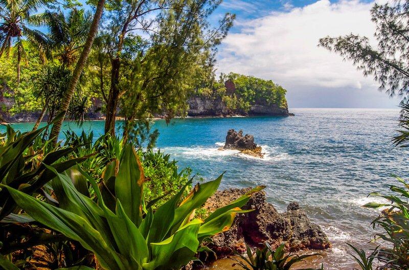 beaches near hilo hawaii