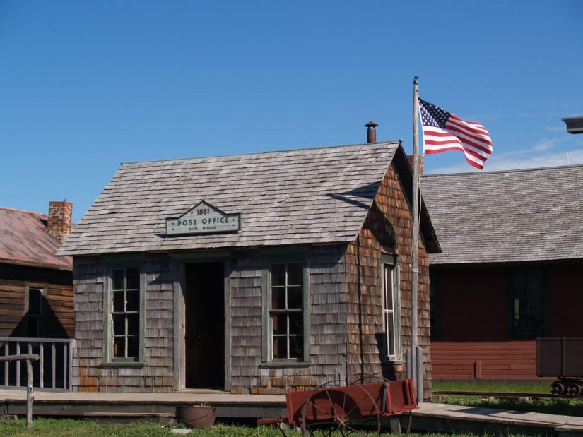 1881 Post Office part of 1880 Town in South Dakota