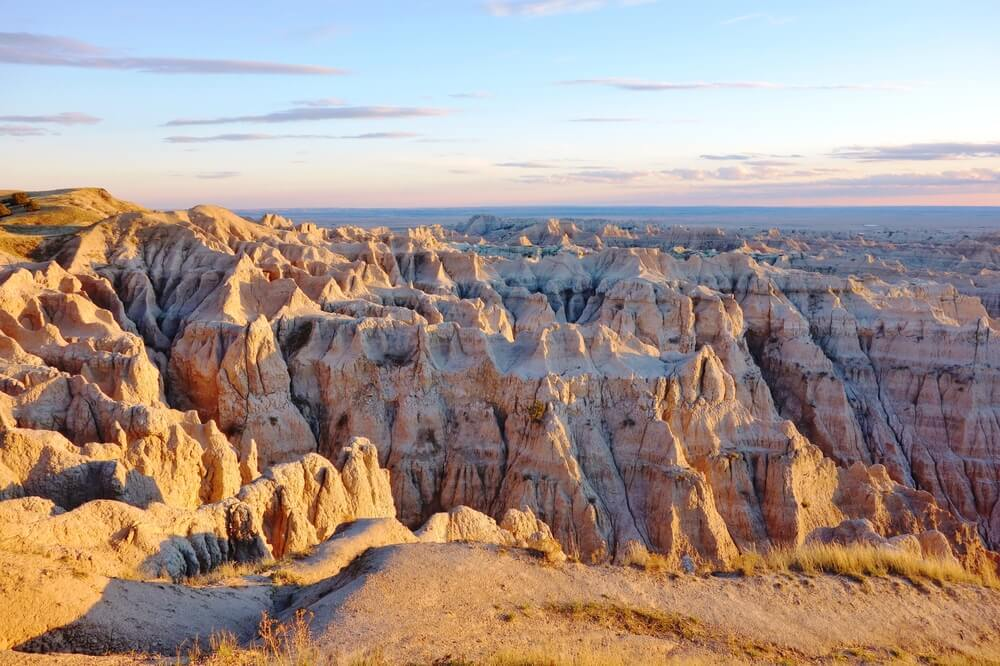 The prettiest formations of rock in the Badlands!
