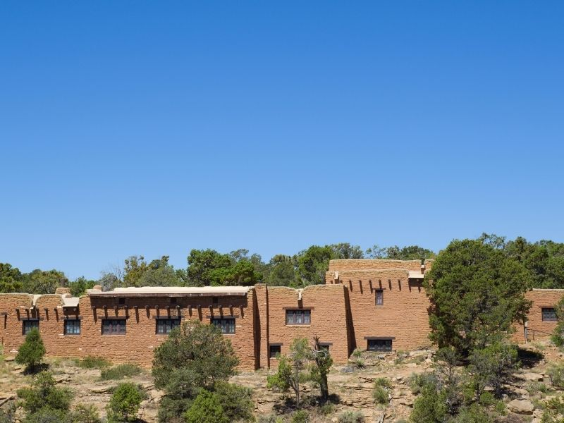the archaelogical museum in mesa verde where you can learn about the cliff dwellings