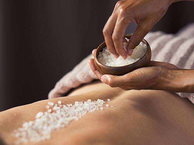 Body Scrub Training Course Salts
