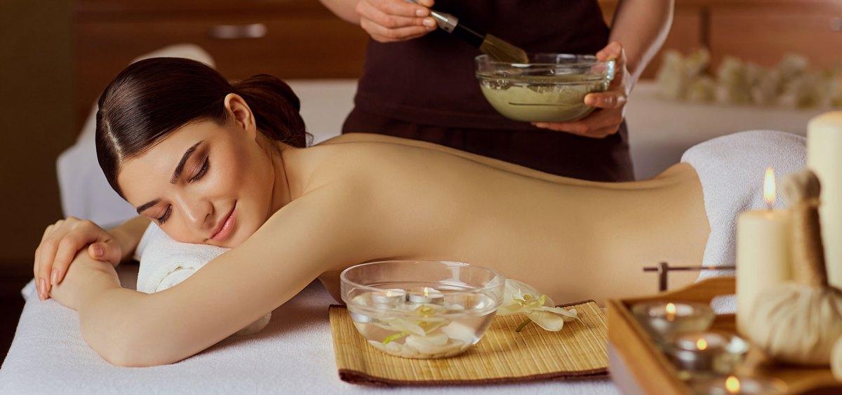 Spa Body Wrap Beauty Treatment