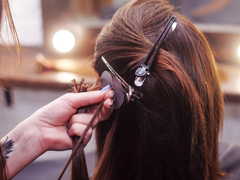 Hair Extension Weaving