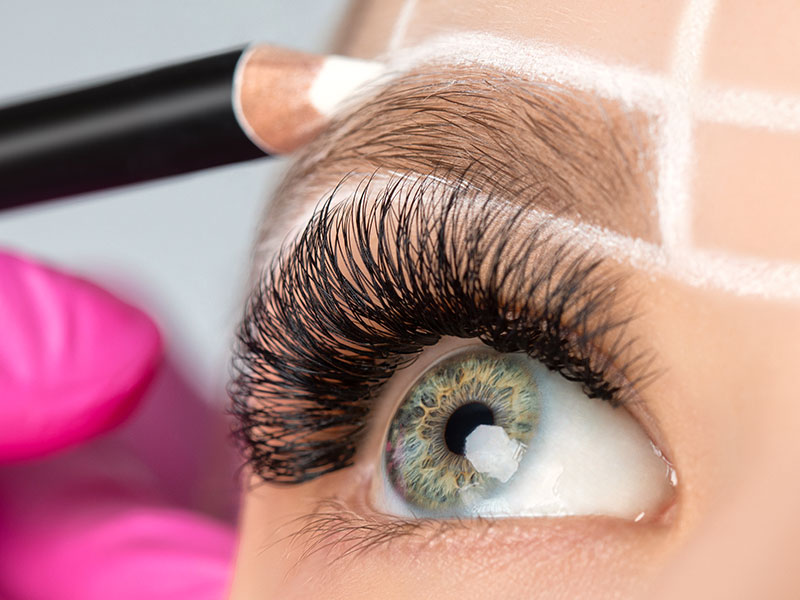 Permanent Makeup Eyebrow Planning
