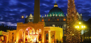 Life-size Nativity Scene at St Peters