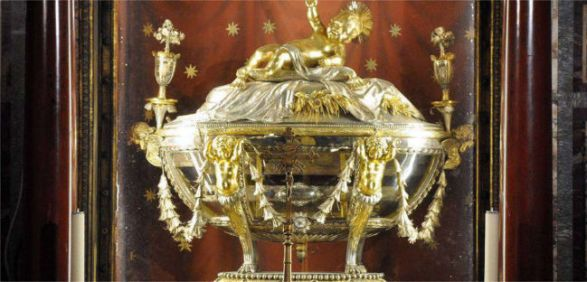 Relics of Christ's Crib