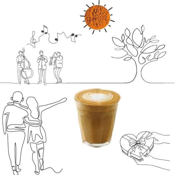 Chocolate Cafe Latte – Organic Drink
