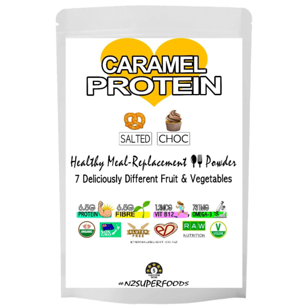 Salted Chocolate-Caramel - Organic Butterscotch Protein Powder