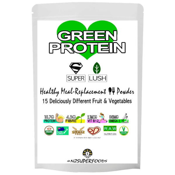 Lush Green Protein Powder - Organic