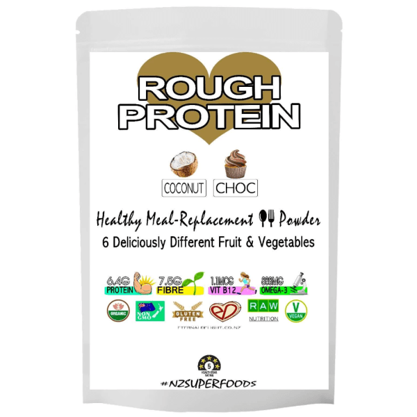 Coconut Rough Protein Powder - Organic