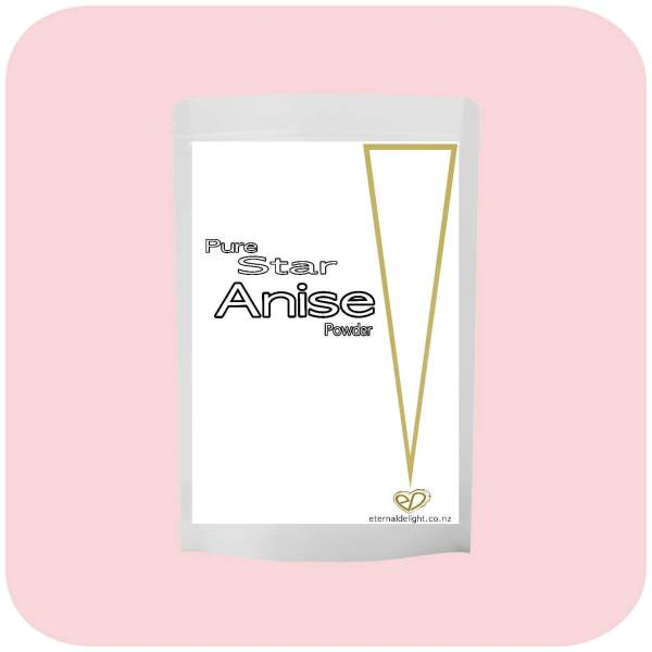 STAR ANISE POWDER. ETERNALDELIGHT.CO.NZ