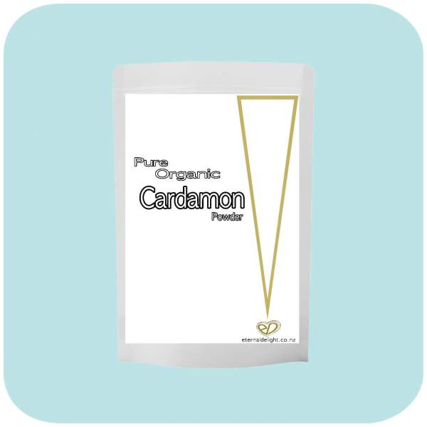 CARDAMON POWDER. ORGANIC POWDER. ETERNALDELIGHT.CO.NZ