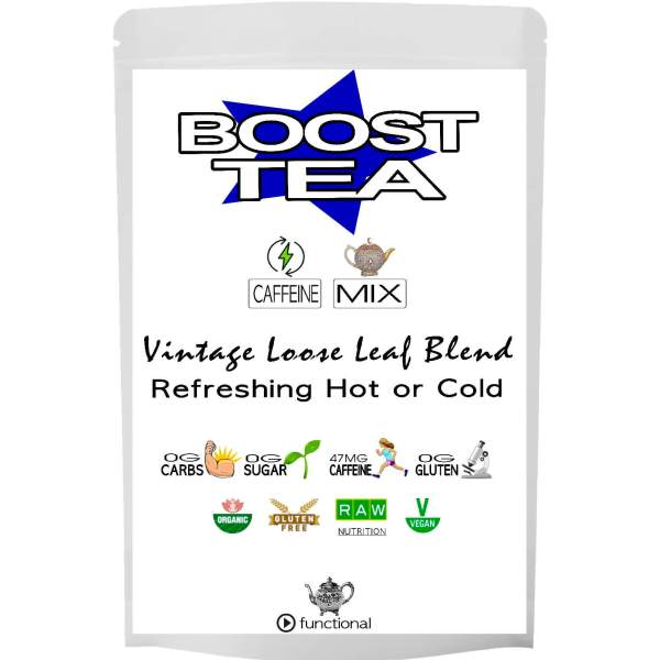 BOOST TEA. ORGANIC. ETERNALDELIGHT.CO.NZ
