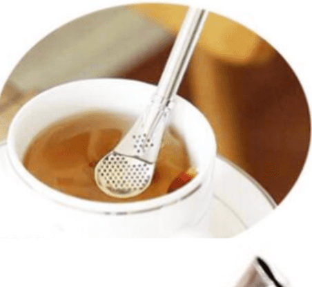 Eco Tea Strainer – Bombilla Straw