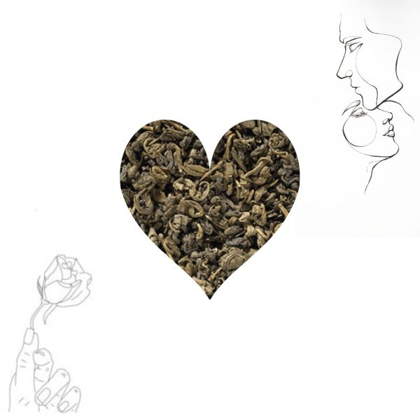 ORGANIC GREEN LOOSE LEAF TEA ETERNALDELIGHT.CO.NZ