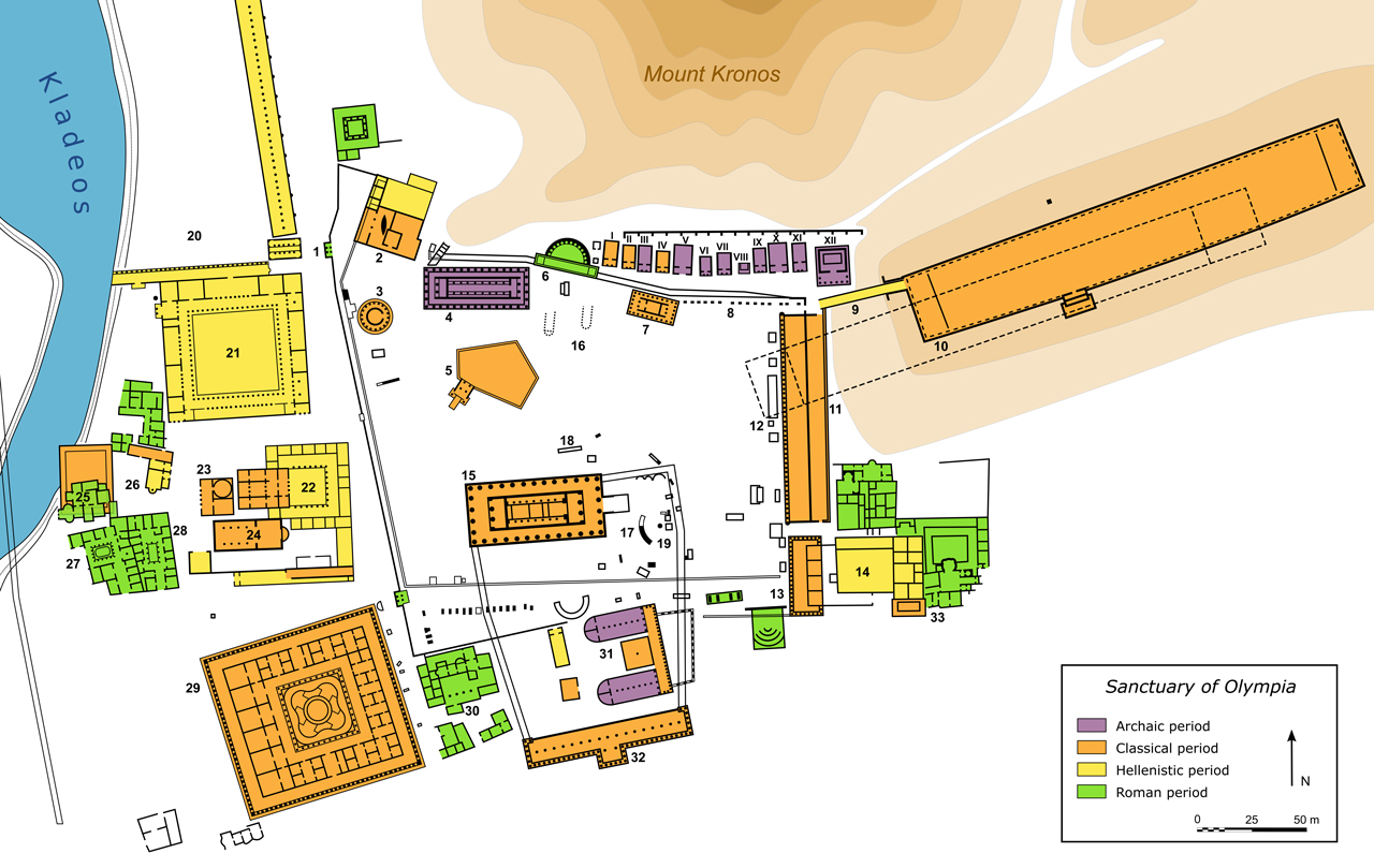 Plan_Olympia_sanctuary Eternal Greece Ltd
