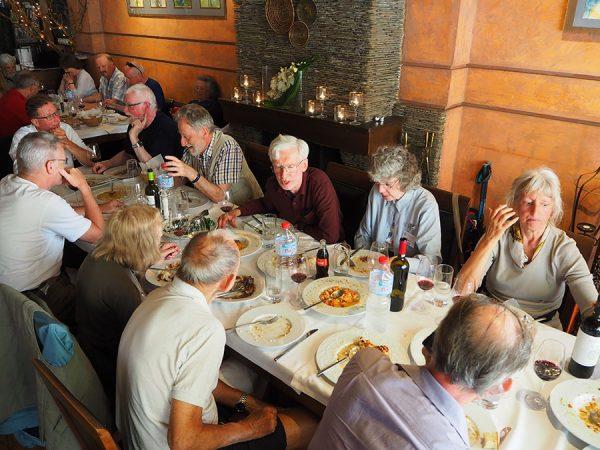Ancient Nemea at the restaurant Peloponnese Eric CB Cauchi Eternal Greece Ltd