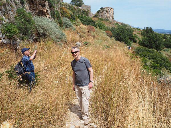 Palaiokastro (Palaionavarino) castle fortress and vicinity Peloponnese Greece copyright Eric C.B. Cauchi Eternal Greece Ltd