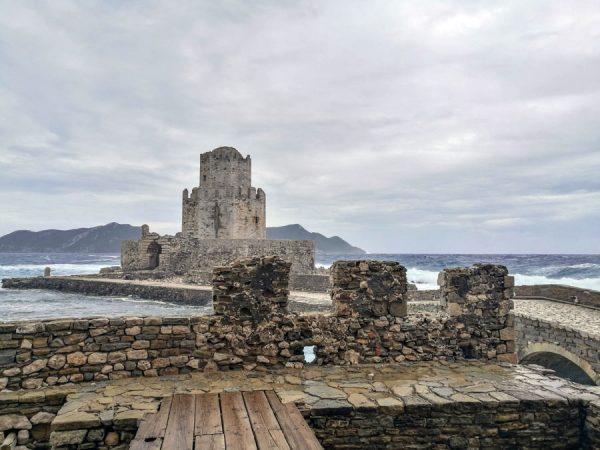 Methoni castle / fortress Peloponnese copyright Eric Cauchi Eternal Greece Ltd