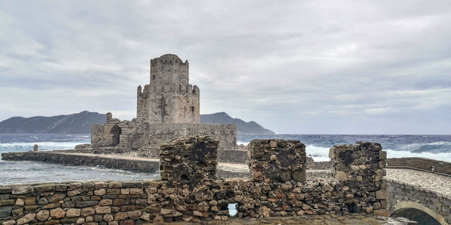 Methoni castle / fortress Peloponnese copyright Eric Cauchi Eternal Greece Ltd