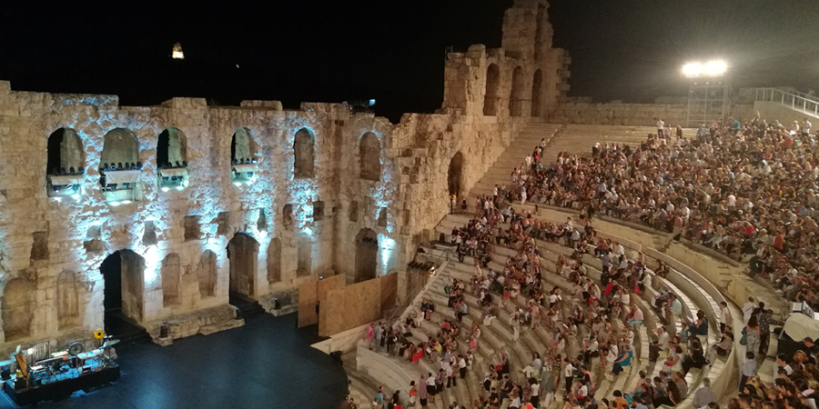 Odeon of Herodes Atticus Eternal Greece Ltd