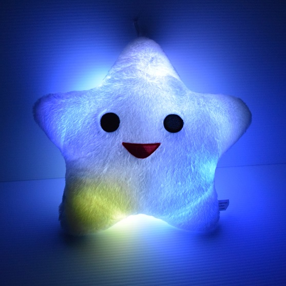 LED Light Up Star Pillow  Eternity LED Glow
