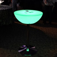 "24"" LED Light up Cocktail Table 