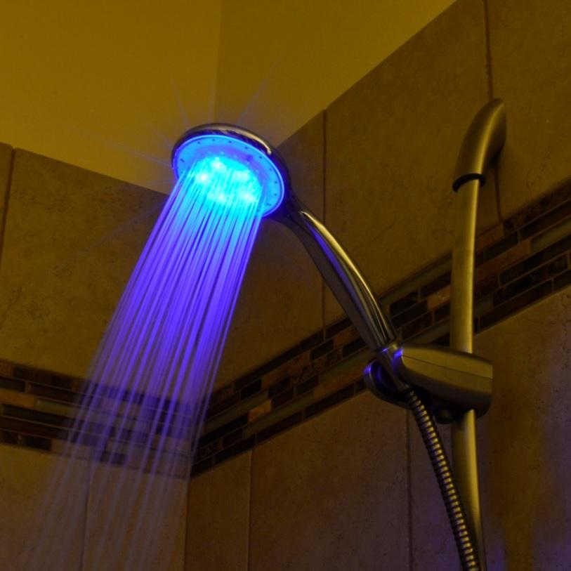 LED Light Up Shower Head on Sale!