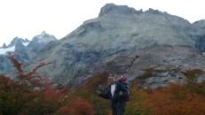 Llegando al Jakob, Bariloche