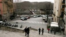 Escaleras que suben a Sant Feliu