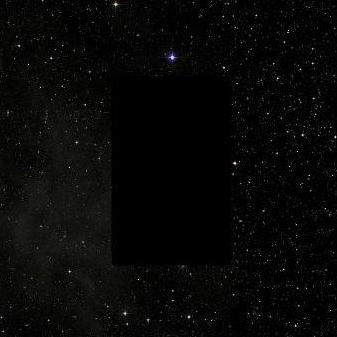 Será esse retângulo uma evidência de cometa? Planeta X? Nibiru? o que quer que seja.? estará esse vazio retangular no Google Sky escondendo algo?