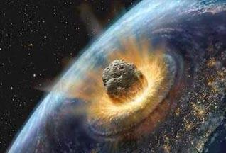 Impacto de cometa na Terra