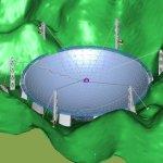 FAST: China constrói rádio telescópio gigantesco com 500 metros de diâmetro